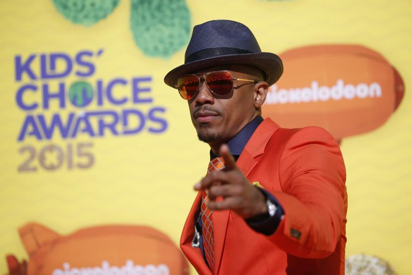 Nick Cannon on Nickelodeon's Award Show.