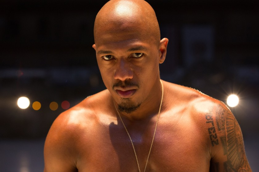 "Nick Cannon in ""Chi-Raq."""