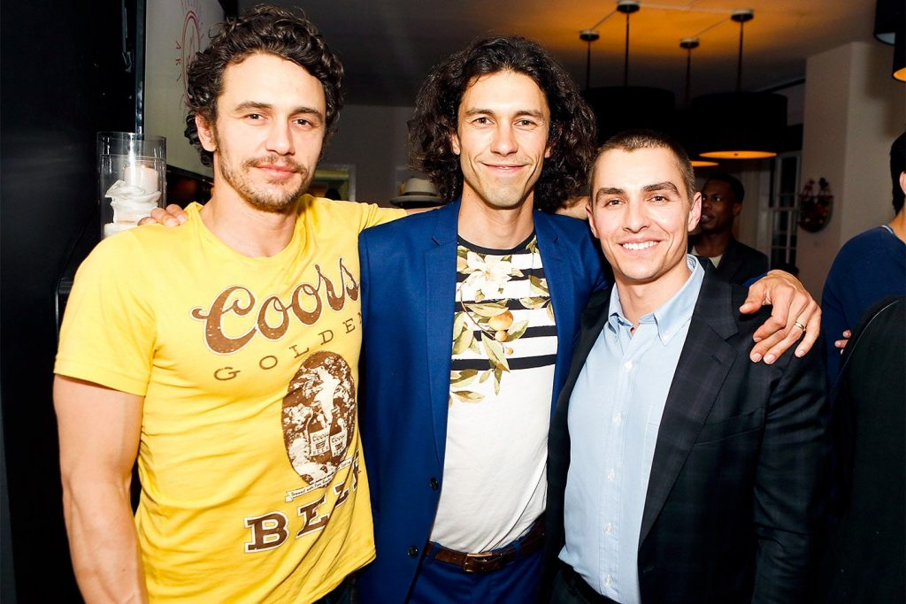 James Franco with Dave and Tom