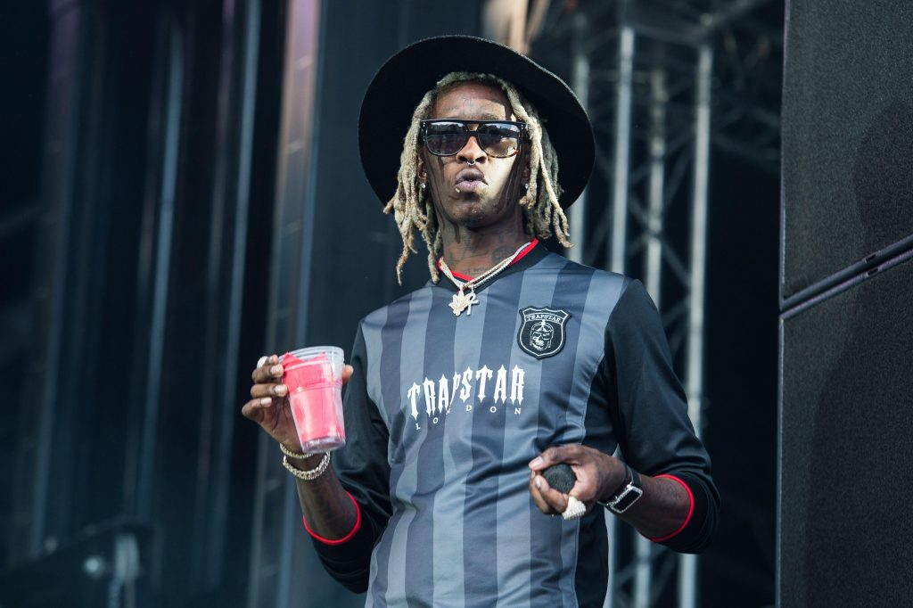 Young Thug Net Worth is enough for him to show off his style.