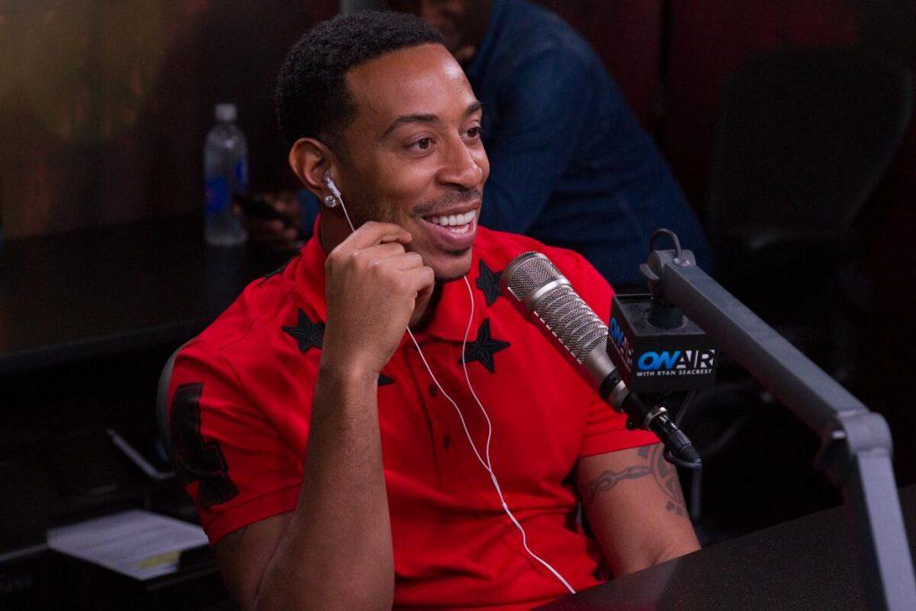Ludacris on a talk show