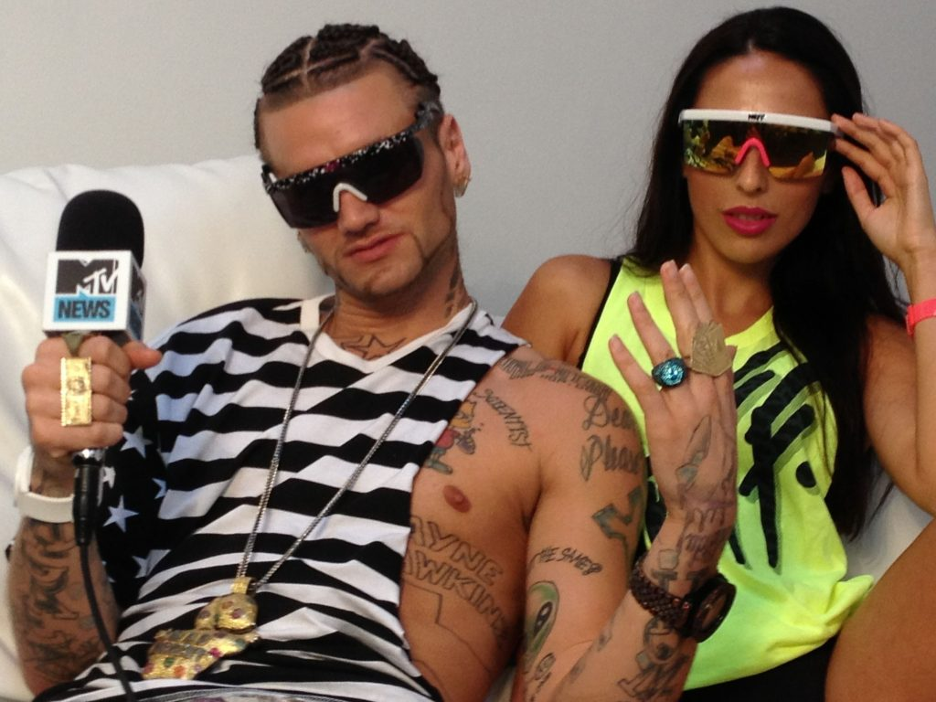 Riff Raff Net Worth comes from his shows too.